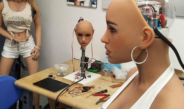 Sex Robot Prototype