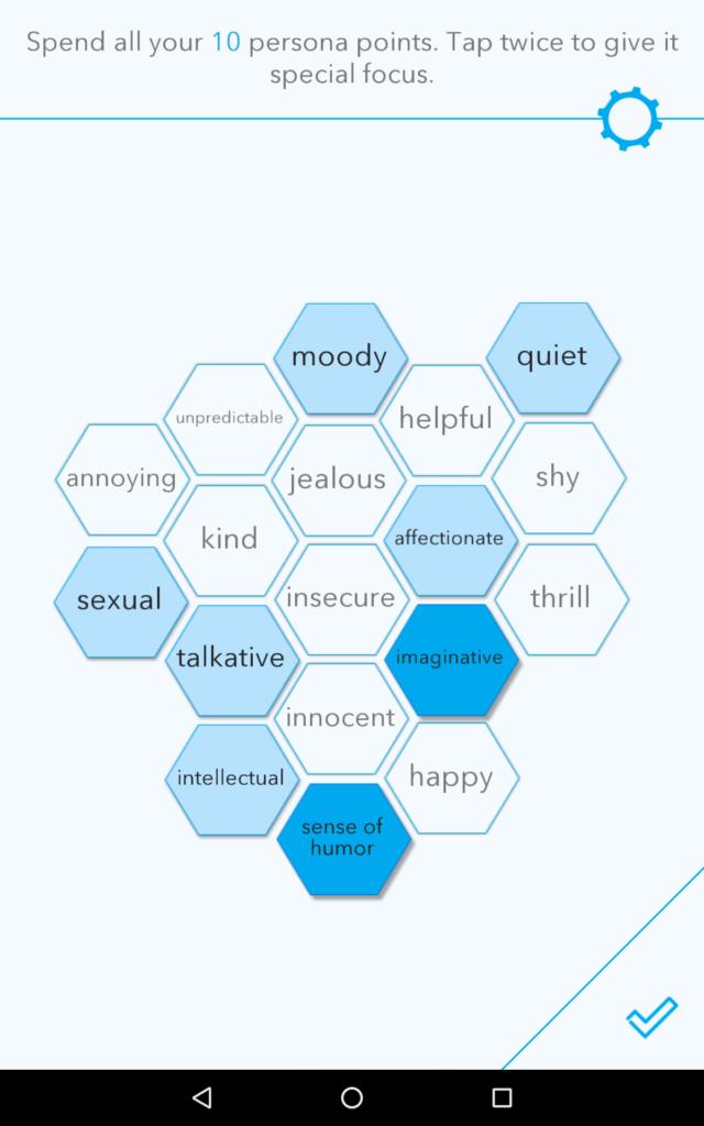 realbotix personality screen