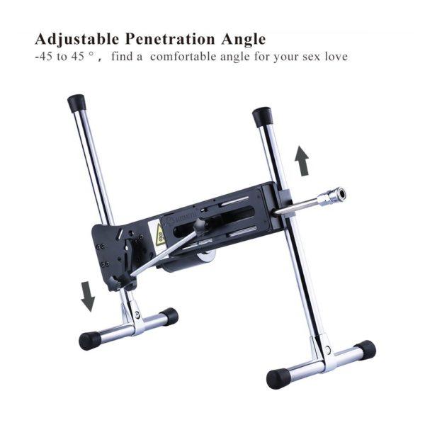 adjustable penetration angle sex machine