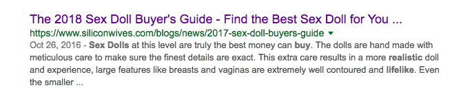 sex doll buying guide